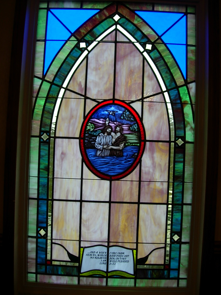 Affordable stained glass windows for churches for Stained glass window church